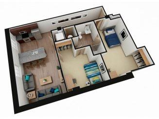 B5 Floor plan layout