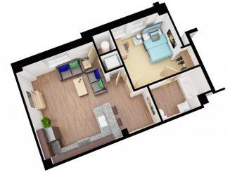 A2 Floor plan layout