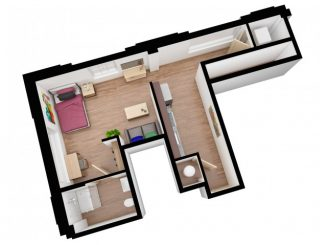 S2 Floor plan layout